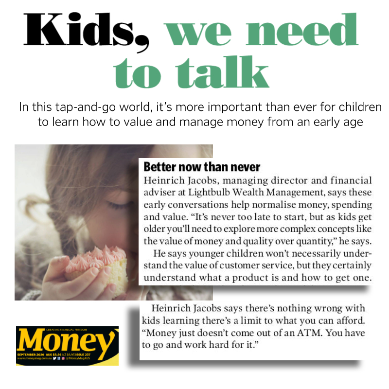 LWM MD featured in Money Magazine: tips on kids and money